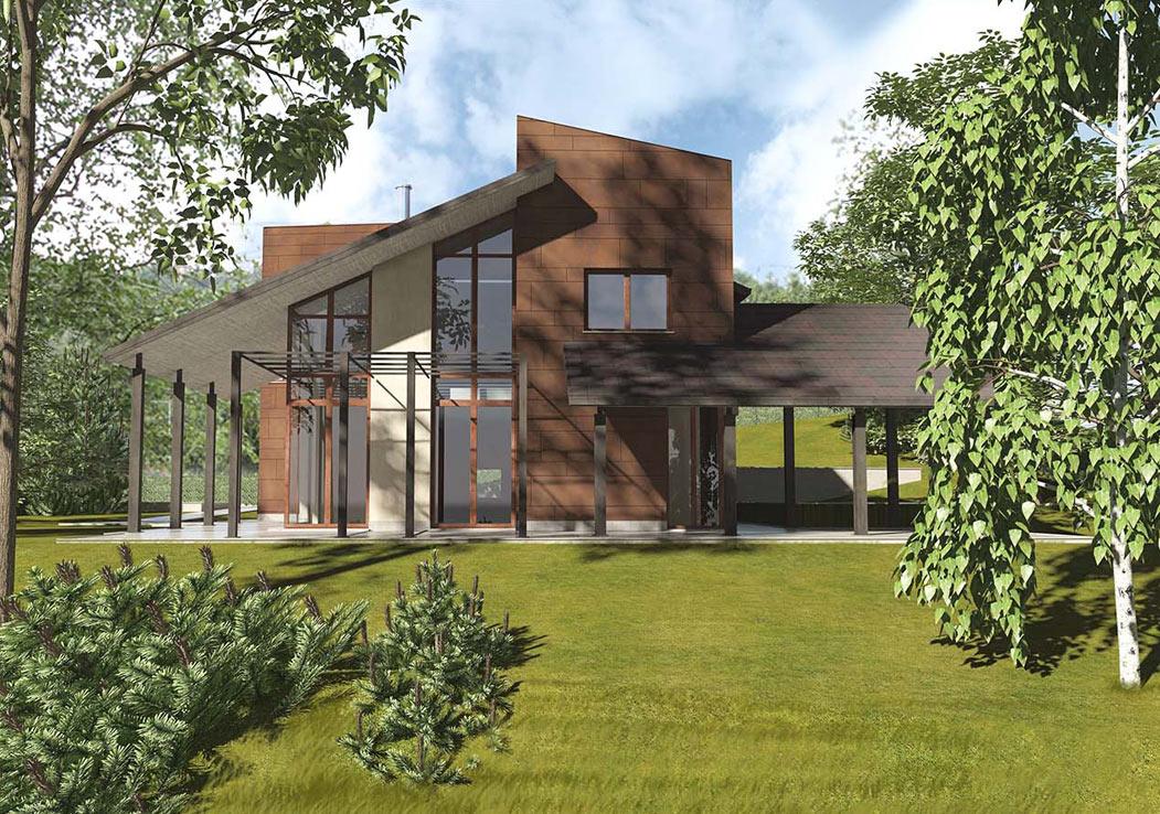 Villa in collina str valsalice a5 studio torino for Ville in collina