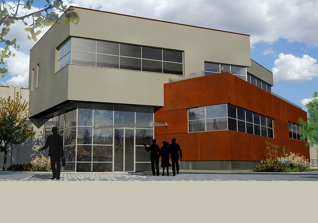 Palazzina uffici vebro chieri a5 studio torino for Architetti torino