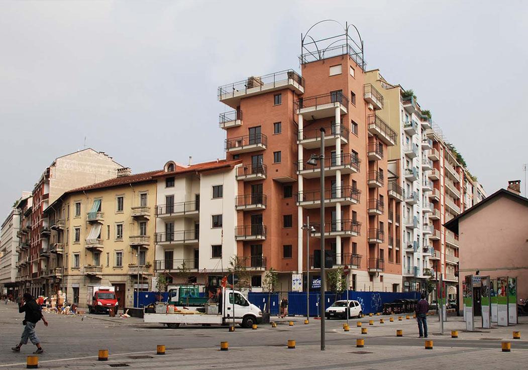 Edificio via di nanni torino a5 studio torino for Architetti torino